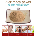 free shipping 100g men sex top quality golden maca root powder, ultra-fine dried maca root organic extracts powder