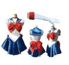 Anime dress Christmas gift little girls kids princess toddler baby sailor moon halloween cosplay costume Uniform