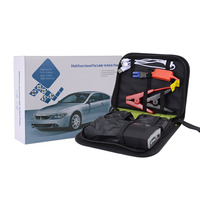 Multifunctional 68800mAH 12V 4 USB Portable Mini Car Emergency Jump Starter Booster Battery Charger Power Bank