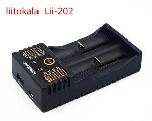 Image 4 - Liitokala cargador de 202 V / 3 V/1,2 V/3,7 V 4,25/18650/26650/18350/16340/18500/AA/AAA Ni MH, batería recargable