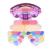 Pro Doce de pêssego 29 cores Kit Paleta de sombra Shimmer Matte Maquiagem cosméticos Blush brilho Labial corretivo Em Pó jogo de escova