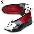 China Oficina Zapato Casual Transpirable Mujeres de Solaz Zapatos Cayó Del Barco de Dibujos Animados Animación Chica Ocio Negro Nuevo Otoño Zapatos Suaves