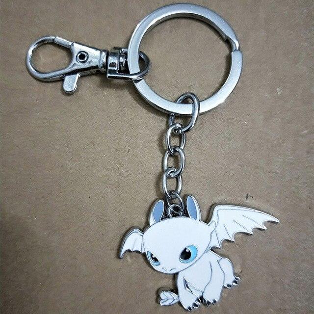 3.5 centímetros Filme Toy Anime Como treinar O Seu Dragão Fúria Da Noite Desdentado Brinquedo presentes Boneca de Brinquedo Keychain Da Liga para crianças