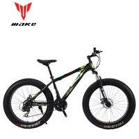 Hacer marco de acero  Fatbike 26 ruedas  24 velocidades SHIMANO|mountain bike aluminum|bike aluminiumshimano bike frame -