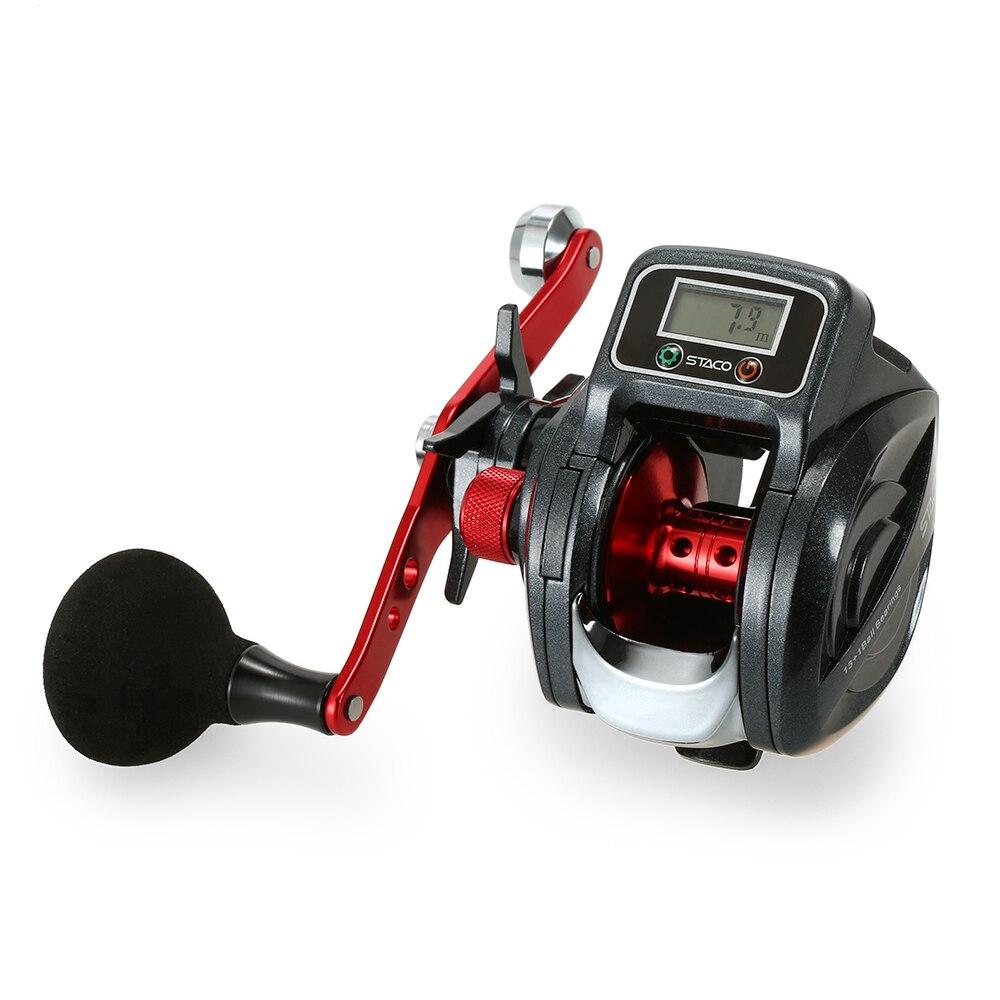 Fishing Reel Bait Casting Reel Baitcast Fishing Reel Tackle with Digital Display Pesca Linecounter Reel 6
