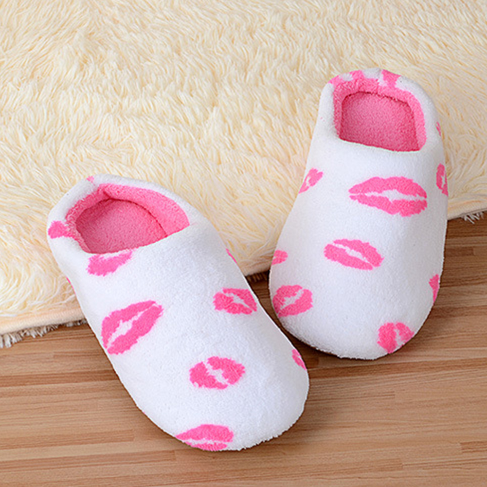 2019 New Shoes Couple Women Warm Winter Plush Indoor House Home Anti-slip Shoes Soft Slippers Unisex Shoes Sandals