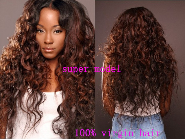 Virgin Mongolian Tight Curl Human Hair Extension Deep Wave Bundles