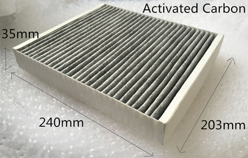 Epica Evanda NEW! Charcoal activated cabin filter for Chevrolet GM Daewoo