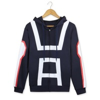 My Hero Academia zipper Hoodie Boku no Hero Academia Coat anime Jacket cosplay costume men women coats jackets School Uniforms