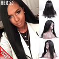 Прямо Полный Шнурок Парик Человеческих Волос Для Черных Женщин Бразильский Девственные Волосы Парик, Дешевые Glueless Фронта Шнурка Человеческих Волос Африканский парик