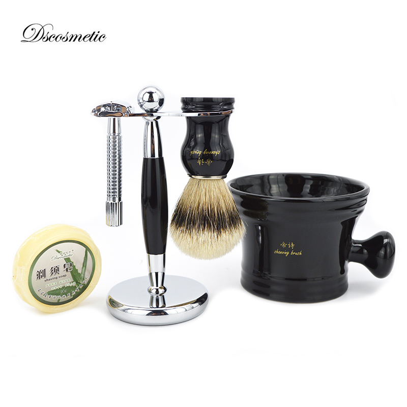 silvertip badger shaving brush set for man,shaving stand,unscrew double-sided razor,shaving bowl mug,shaving soap 3 pairs lot bk20 bf20 ball screw end supports fixed side bk20 and floated side bf20 match with scerw shaft