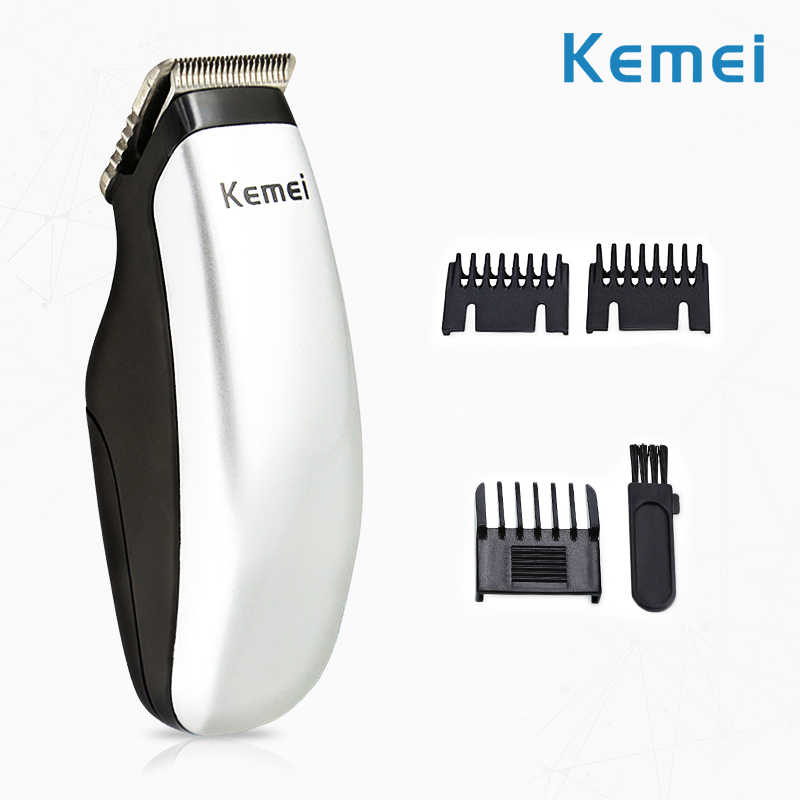 Mini Electric Hair Trimmer Portable Battery Hair Cutting Machine Stainless Steel Cutter Head Family Universal Hair Clipper