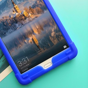 Image 4 - MingShore Rugged Silicone Soft Case For Huawei MediaPad M5 8.4inch SHT AL09 SHT W09 Tablet Shockproof Cover Case