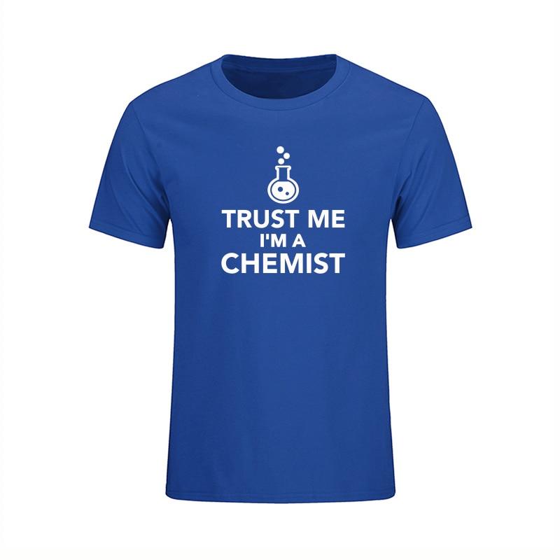 Poletje Novi prihod Zaupajte mi, da sem kemična moška majica, - Moška oblačila - Fotografija 6