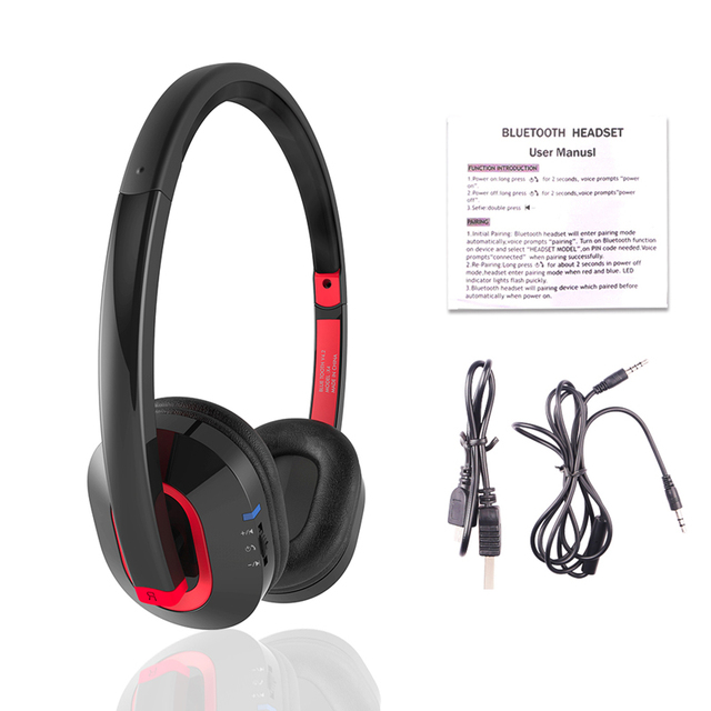 Salar X4 Wireless bluetooth with Bluetooth Stereo and microphone for music wireless headphone Headphones/headset