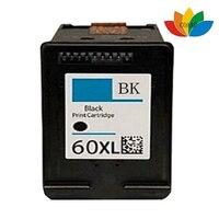 1Pk Compatible Recyclé cartouches 60 Noir pour HP 60XL/CC641WN pour Deskjet F4210 F4213 F4235 F4240 F4272 F4275 F4280 F4283
