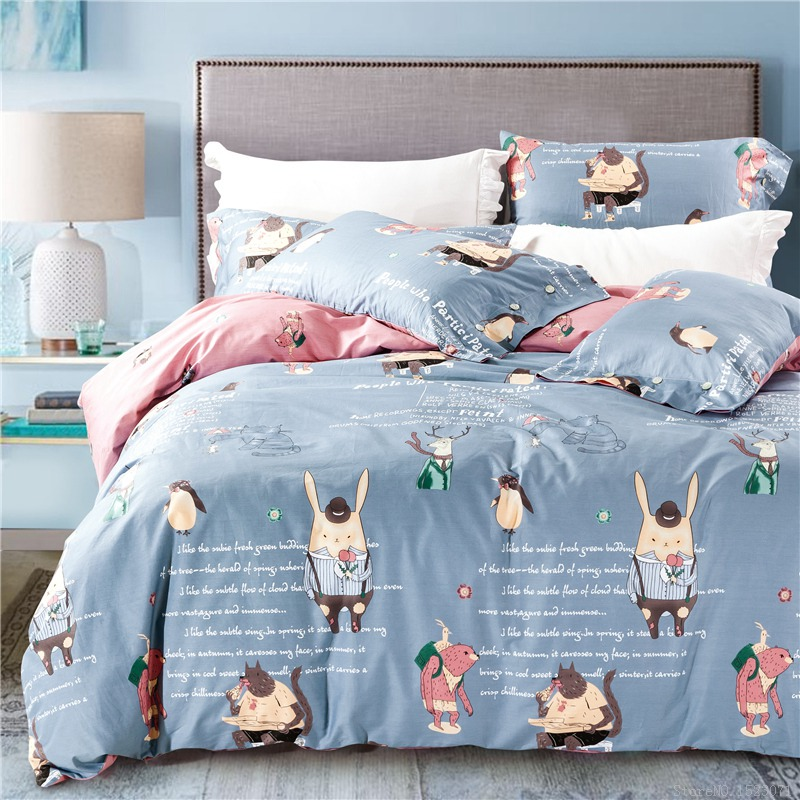Kids Bedroom Linen popular animal bed sheets for kids-buy cheap animal bed sheets for