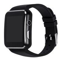 Vaglory x6 بلوتوث سمارت ووتش ساعة مع الكاميرا دعم بطاقة sim مايكرو sd reloj inteligente اليد لالروبوت الهاتف