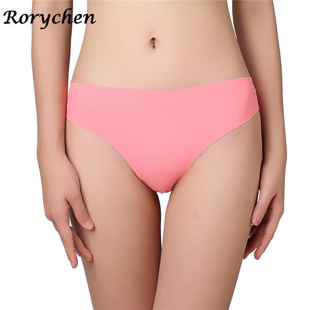 New Women Panties Underwear Sexy Seamless Thongs No trace Tanga G String G-String Brazil Lingerie Mini Biniki Calcinha 4pcs/lot