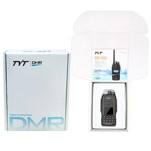 Image 5 - Émetteur récepteur FM Portable TYT MD 390 DMR UHF 400 480MHz GPS Radio bidirectionnelle IP67 étanche Radio + câble de programmation CD et écouteur