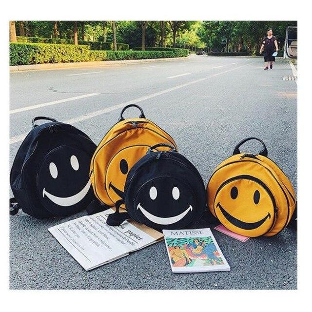 сумка рюкзак смайлик 3
