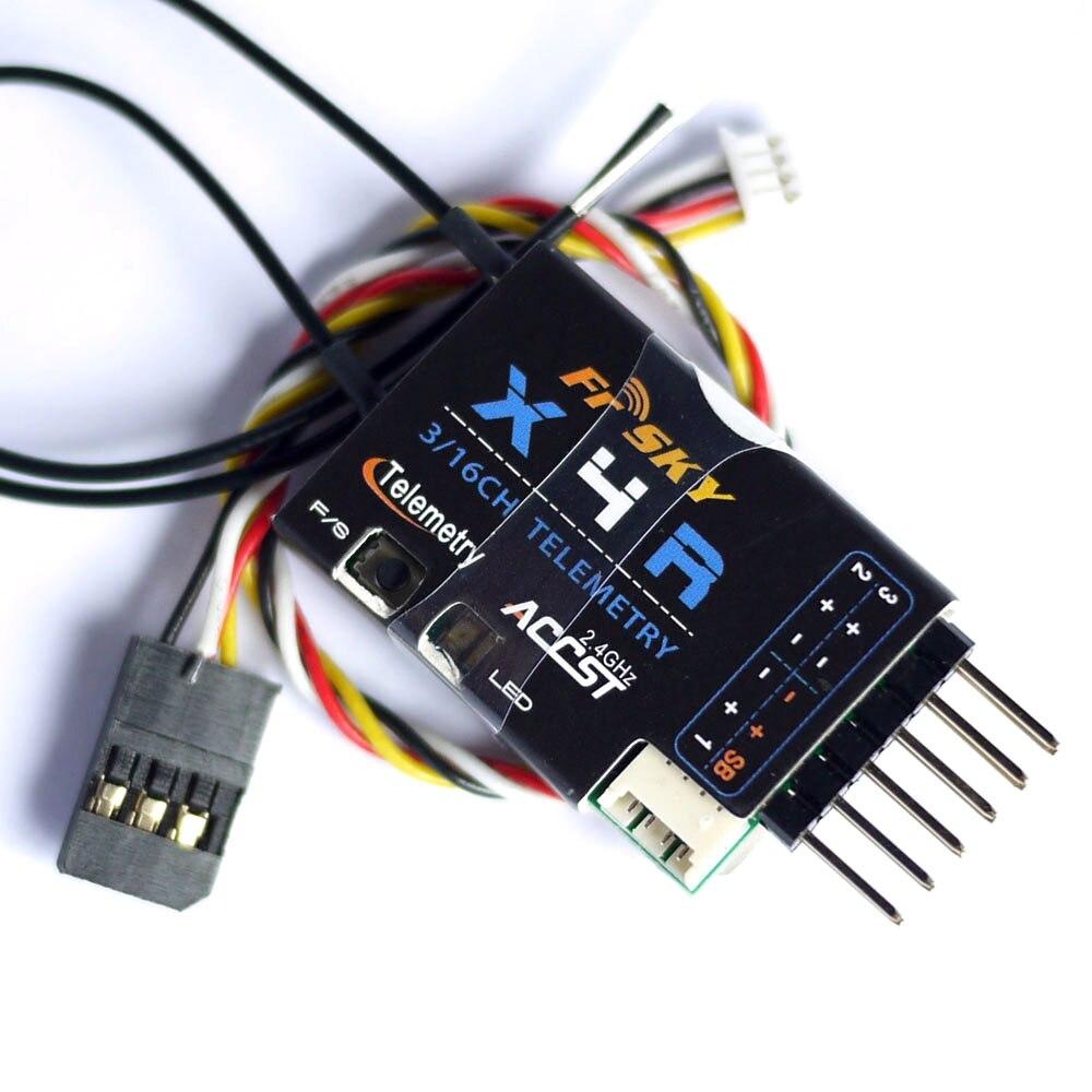 FrSky X4RSB 3/16ch 2.4Ghz ACCST Receiver w/S.BUS, Smart Port & telemetry for X9DP Q X7 frsky smart port lipo sensor flvss replacement part