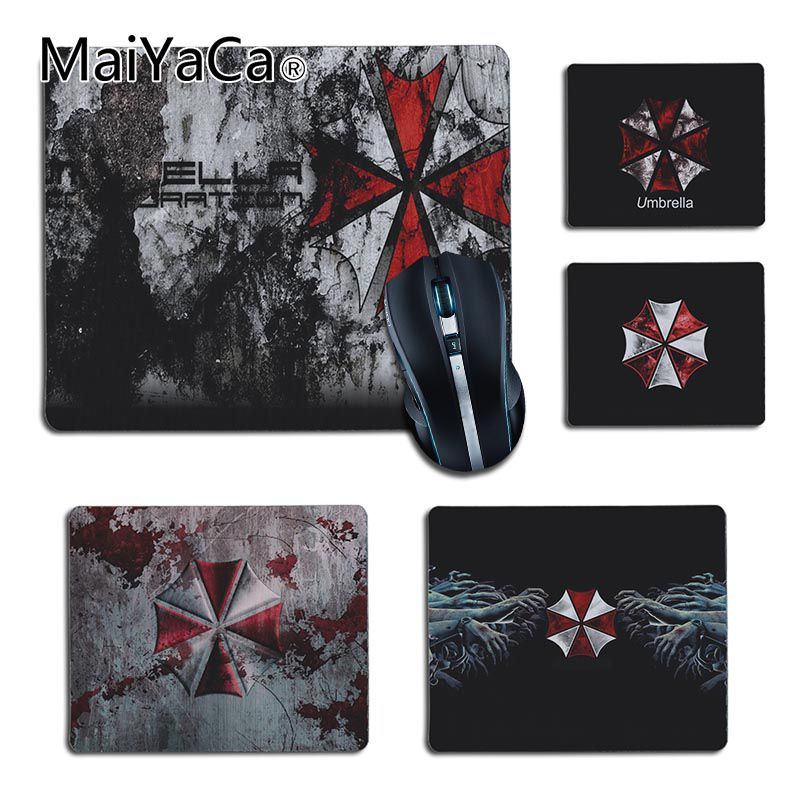 Maiyaca Boy Gift Pad Umbrella Customized Mousepads Computer Laptop Anime Mouse Mat For Lol Game Playing Lover Custom Mouse Pad Computer Peripherals