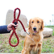 new brand large dog leash Harness Thickened nylon big lead high-quality vicious Chain For Dogs 3cmx120CM
