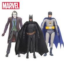 17 см Marvel игрушки супергерой комикс Бэтмен Супермен Джокер ПВХ фигурка подвижная NECA ТВ серия Коллекционная модель игрушки куклы