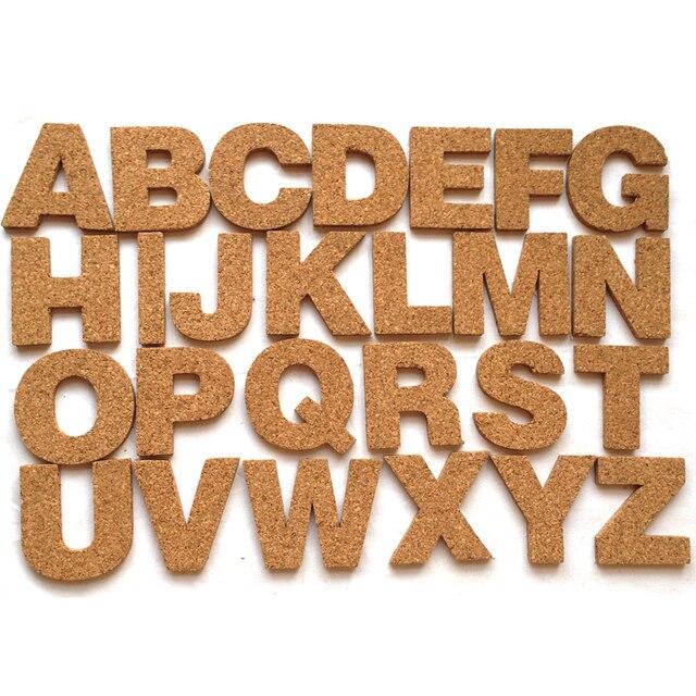 diy li ge bois 26 alphabet de a z autocollant ensemble auto b ton du phell me mur lettre en. Black Bedroom Furniture Sets. Home Design Ideas