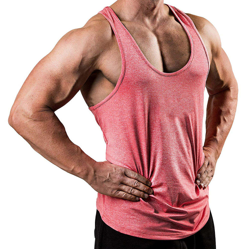 Bodybuilding   Tank     Tops   Men Quick dry sleeveless Shirt Gyms Fitness Singlet Vest Undershirt Male Jogger Workout Clothing