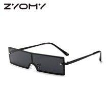 Women Sunglasses UV400 Brand Designer Vintage Small Box Men