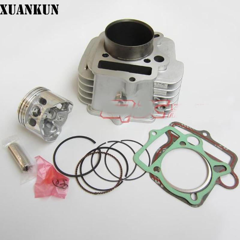 XUANKUN YX140 горизонтальный 140 дополнительное оборудование двигателя Блок цилиндров поршень и головку цилиндра, цилиндр 140 комплектов цилиндра