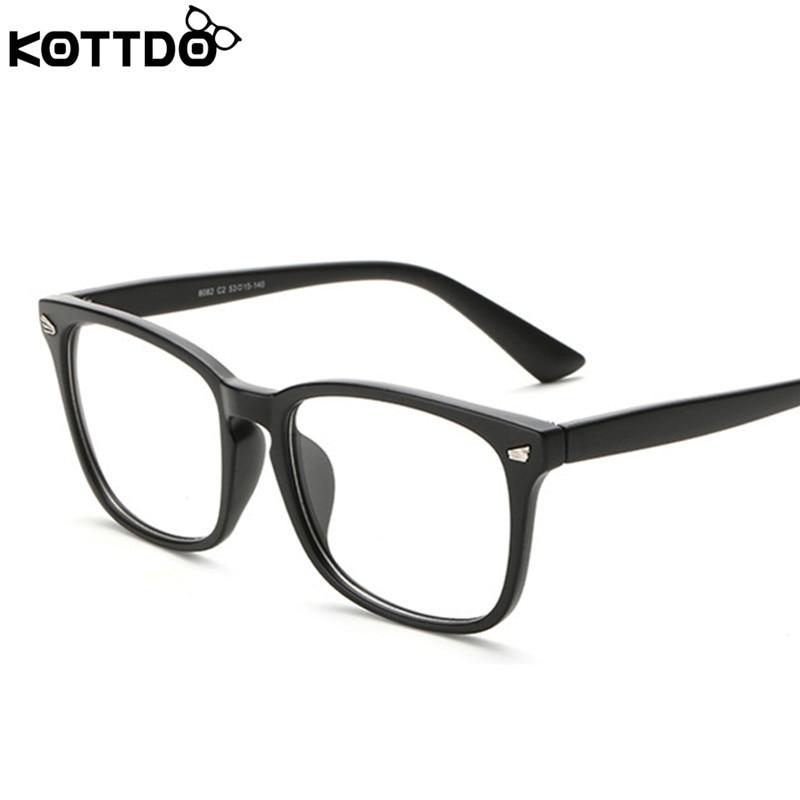 0f162ec49bc92 KOTTDO Moda Retro Óculos de Leitura Das Mulheres Dos Homens Marca de Designer  Óculos Espetáculo Frame Ótico Eyewear Computador Oculos