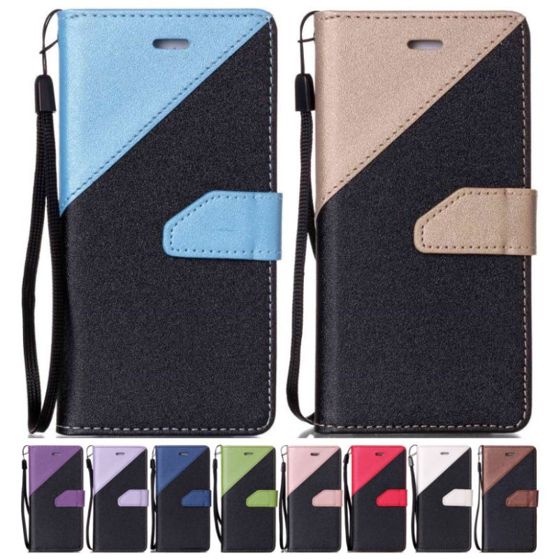 DEEVOLPO Hit Color Wallet Phone Case For Moto G5 Plus G5Plus Cedric XT1670 XT1671 XT1675 XT1685 XT1672 Holster Cover Bag D09F