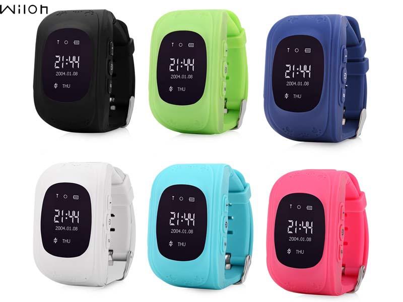 1 pcs Q50 GPS Tracker Montre Pour Enfants SOS D'urgence Anti Perdu Bracelet Bracelet Q50 Dispositifs Portables OLED Finder Locator Tracker