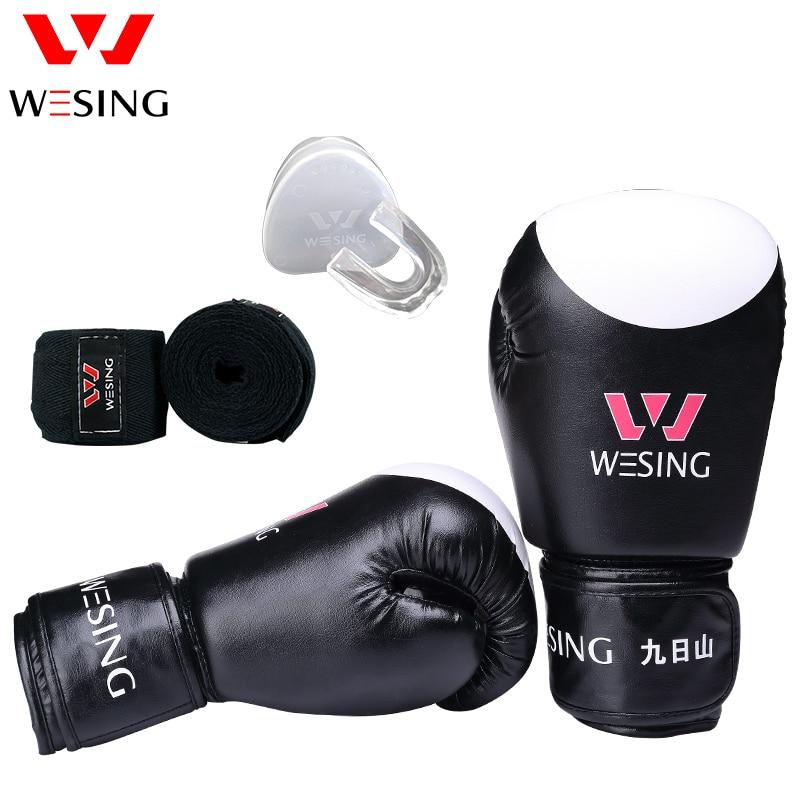 Wesing боксерские перчатки, оборудование для бокса