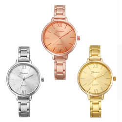 2016 relojes mujer new fashion geneva women watch narrow width stainless band wristwatches watches relogio reminino.jpg 250x250