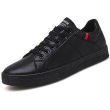 Marka skórzane męskie obuwie jesienne modne trampki obuwie gumowe ciepłe męskie płaskie buty zimowe męskie buty sprzedaż Man Designer