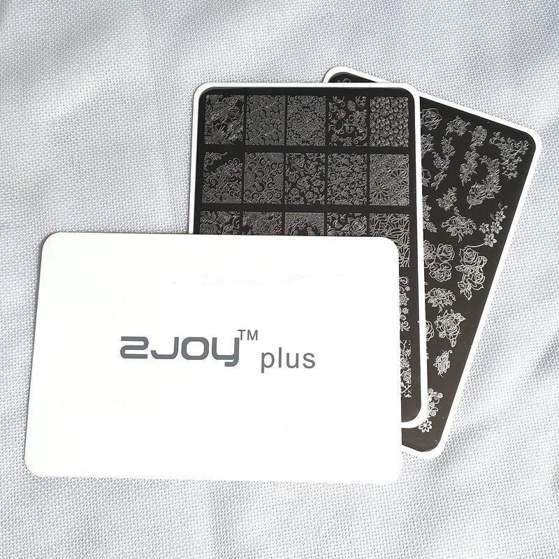 9.5*14 cm Nail Art estampage plaques mer tortue poulpe plume collier ongles estampage plaques dentelle fleur Nail Art timbre modèle
