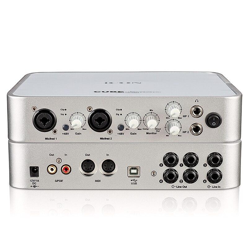 icon cube6nano professionale scheda audio usb scheda audio esterna