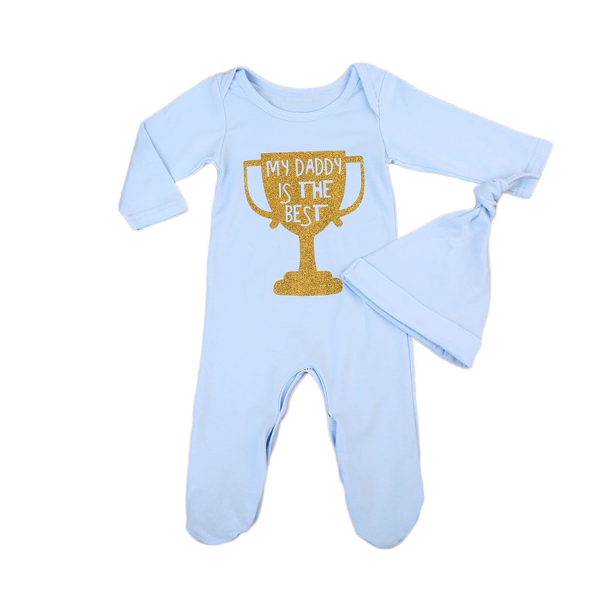 2PCs Toddler Baby Boys Romper 2017 New Autumn Spring Long Sleeve Romper+Hat Brief Casual Jumpsuit Outfits Clothes Set puseky 2017 infant romper baby boys girls jumpsuit newborn bebe clothing hooded toddler baby clothes cute panda romper costumes