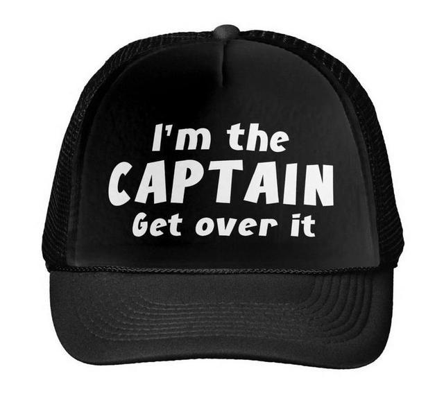 BEN Kaptan Alın Üzerinde It Baskı beyzbol şapkası şoför şapkası Kadın Erkek Unisex Örgü Ayarlanabilir Boyutu Siyah Beyaz Damla Gemi m-69