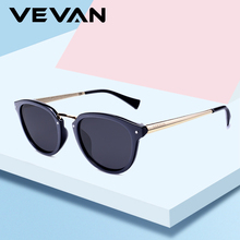 цена на VEVAN 2019 Cat Eye Sunglasses Women Polarized Brand Designer UV400 Vintage Sun Glasses Female Driving oculos gafas de sol mujer