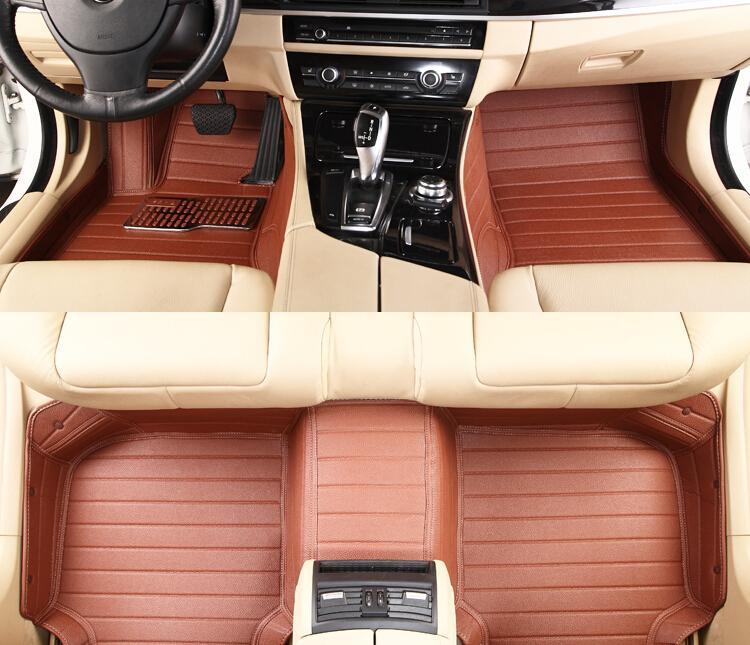 Ford Mustang üçün CHOWTOTO Xüsusi Mərtəbə Matraları 2 Mustang - Avtomobil daxili aksesuarları - Fotoqrafiya 5
