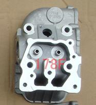 Fast Shipping diesel engine 178F Cylinder head spare parts best quality suit for kipor kama Chinese brand engine parts cylinder head assembly