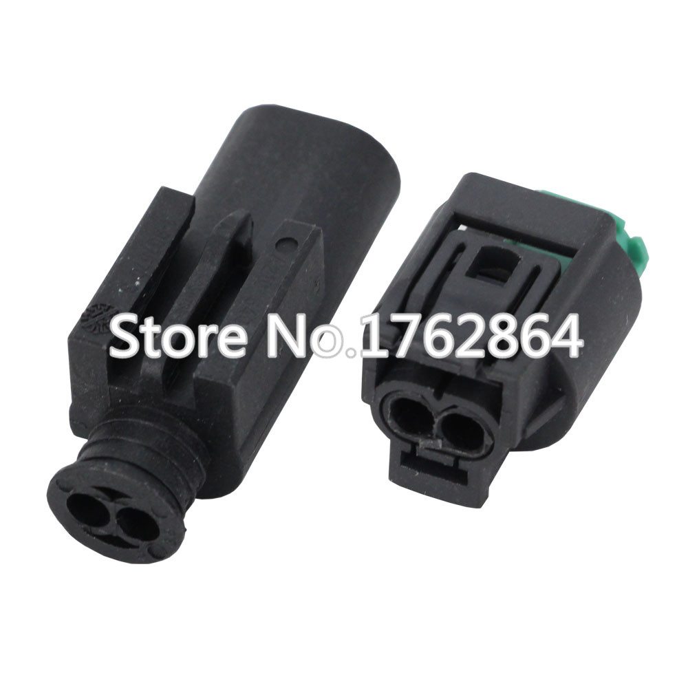 Auto 2 Pin Male Female Wire Connector Engine Coolant Temp Water Bmw Temperature Sensor Plug For Buick Dj7021 1 11 21 In Connectors From Lights Lighting On