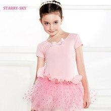 Girls Kids Ballet Dress For Children Girl Dancewear Ballet Costume Dresses Leotard Skate CuteTutu Costume Dance Dress 3 Colors