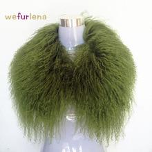 2018 Spring New Real Wool Fur Collar Women Wool Collar Real