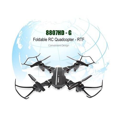 Оригинальный RC 8807hd-G Складная RC Quadcopter RTF Wi-Fi FPV-системы/G-Sensor режим/голос Управление вертолет